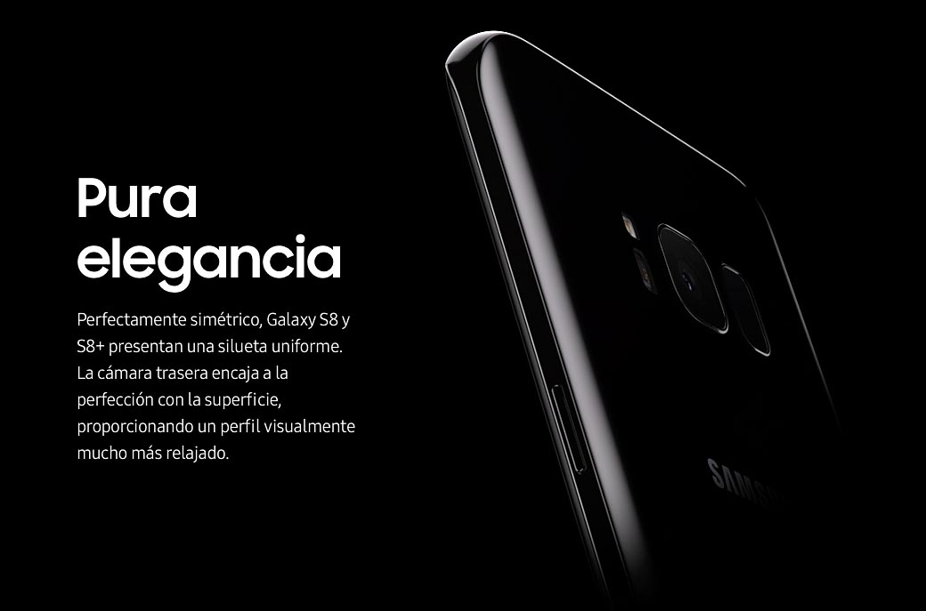Samsung Galaxy S8 - Pantalla curva