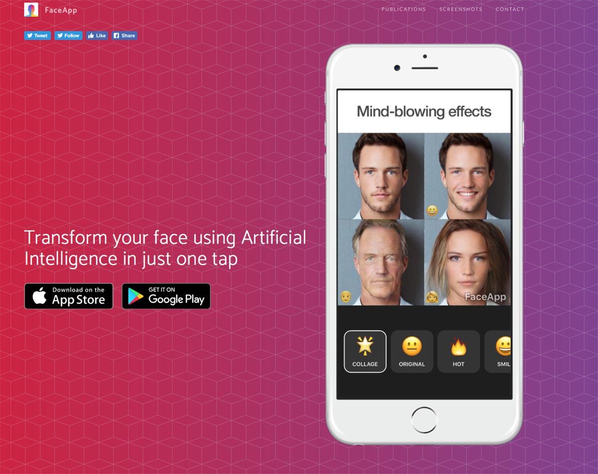 FaceApp, la app que transforma tu rostro usando inteligencia artificial