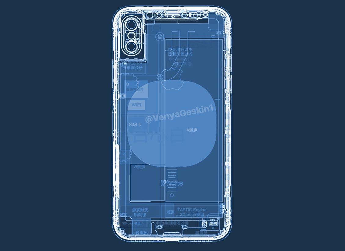 Así podría ser el plano del próximo iPhone 8