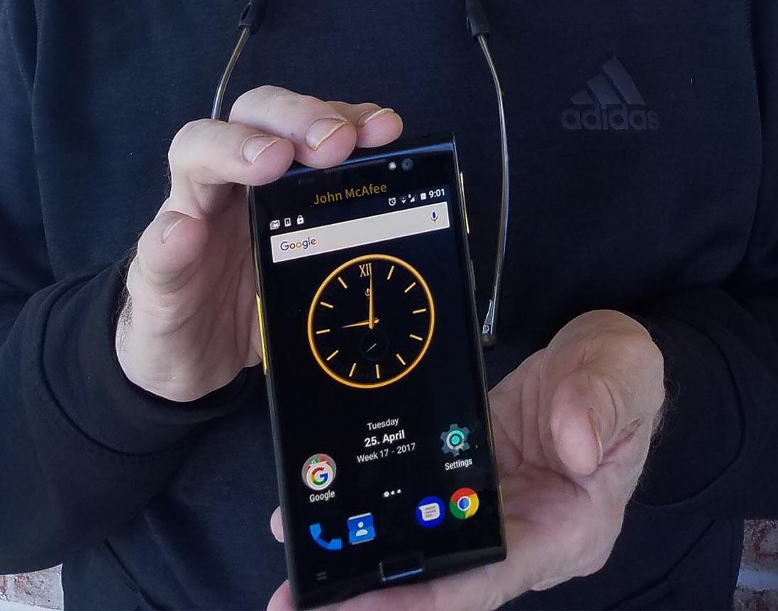 MGT Privacy Phone, el móvil ultra seguro de John McAfee