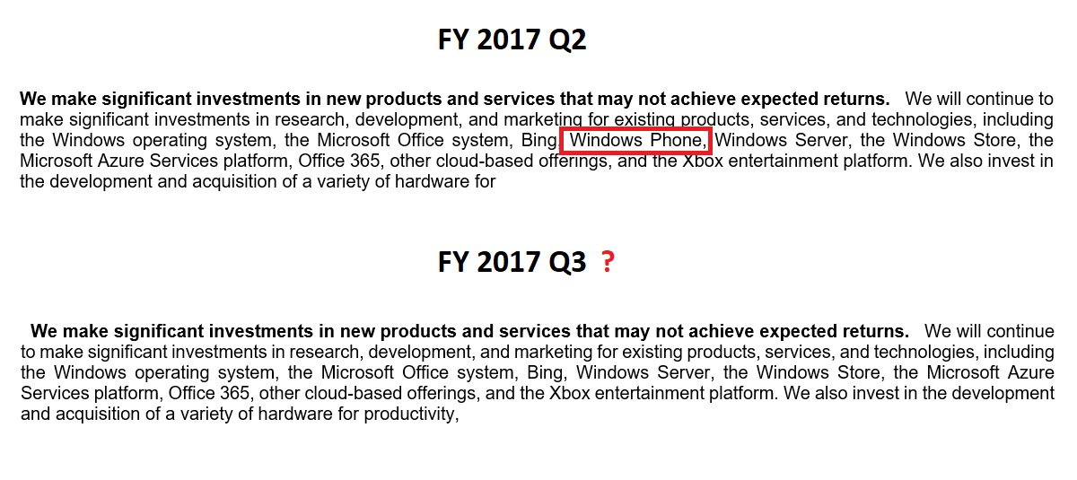 Microsoft podría haber abandonado definitivamente el segmento de los móviles