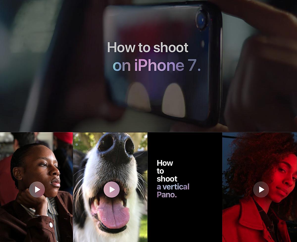 Apple te enseña cómo hacer fotos con el iPhone