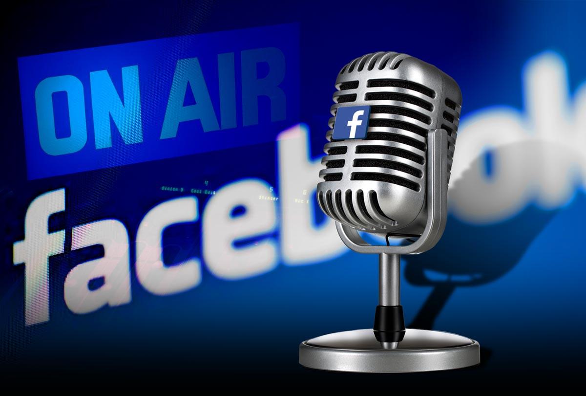 Facebook puede ser tu próxima emisora de radio en streaming
