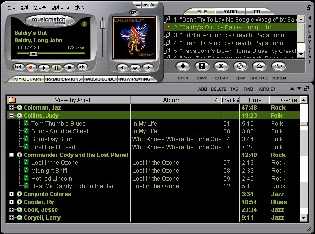 Musicmatch Jukebox MP3