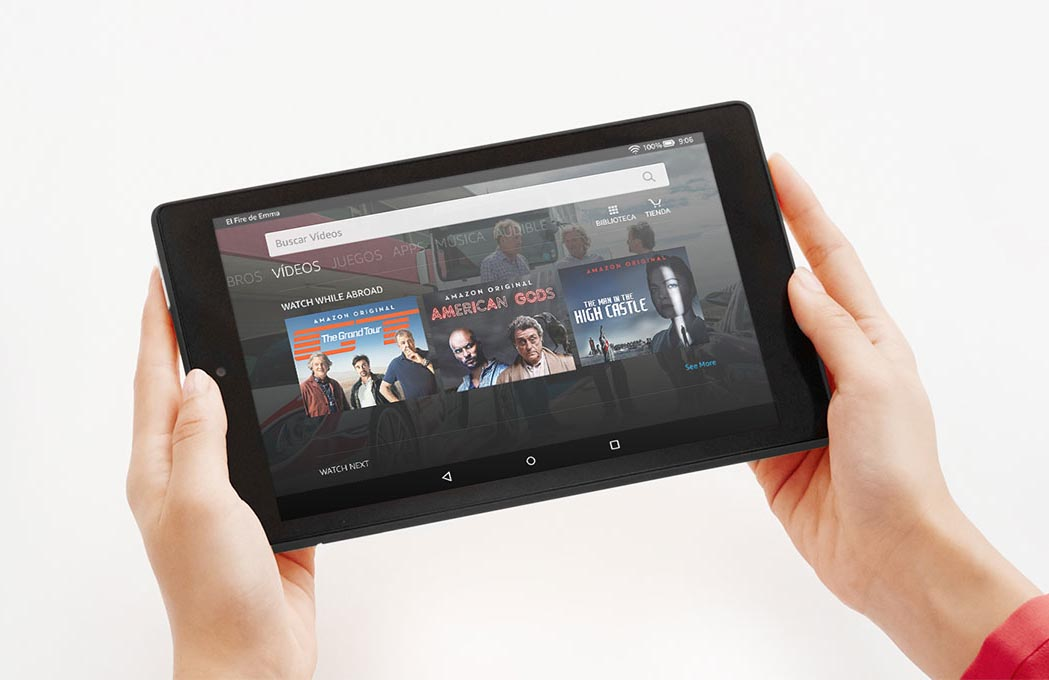 La nueva tableta económica Amazon Fire 7