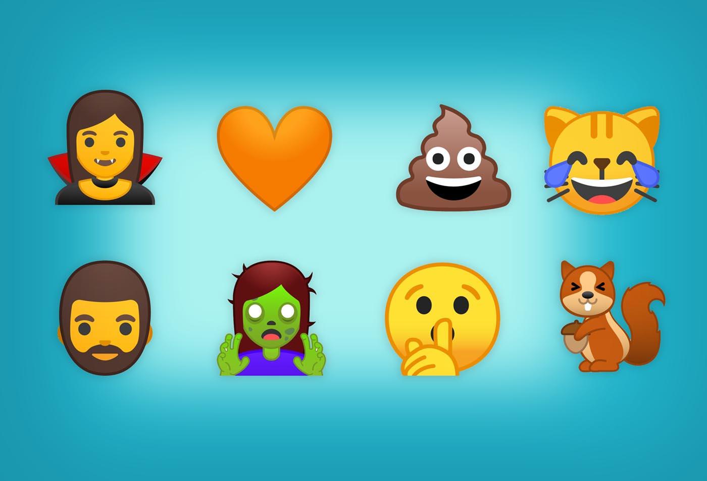 Los nuevos Emoji de Android O