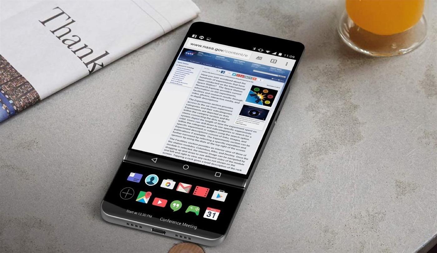 Concepto LG V30