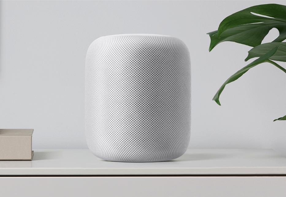 El nuevo altavoz Apple HomePod
