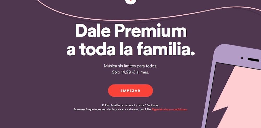 Spotify expulsa a usuarios que comparten cuentas familiares