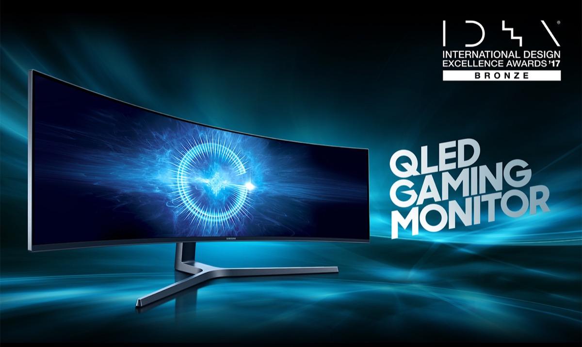 El monitor ultra panoramico Samsung CHG90