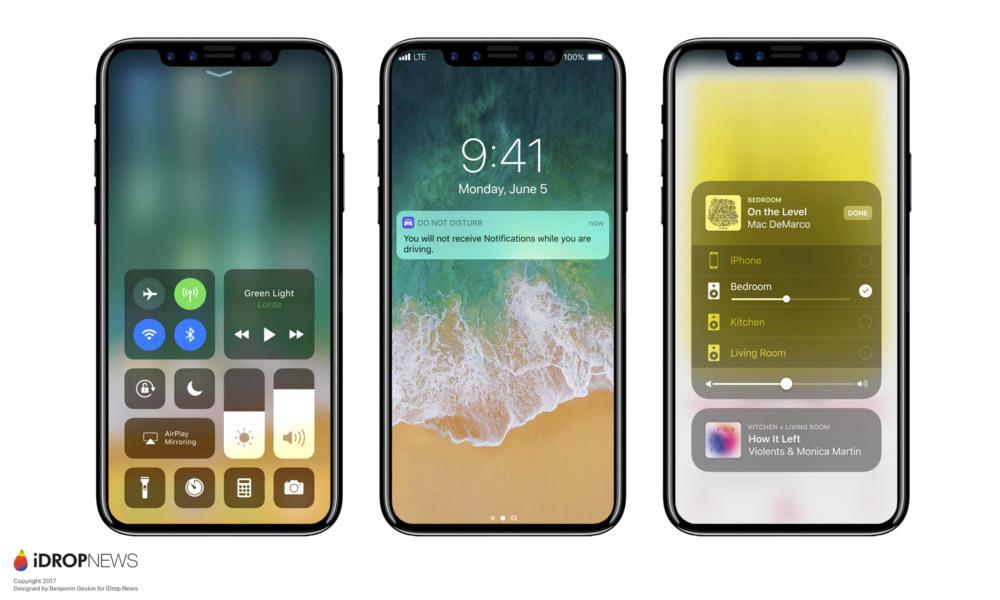 Así será el iPhone 8 de Apple