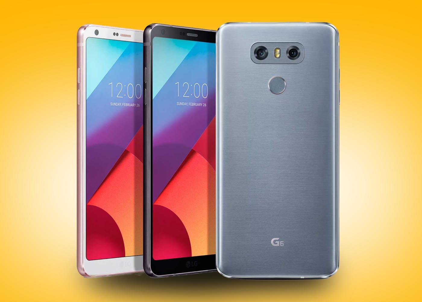 El LG G6 puede encontrarse ya a un precio de sólo 440 euros