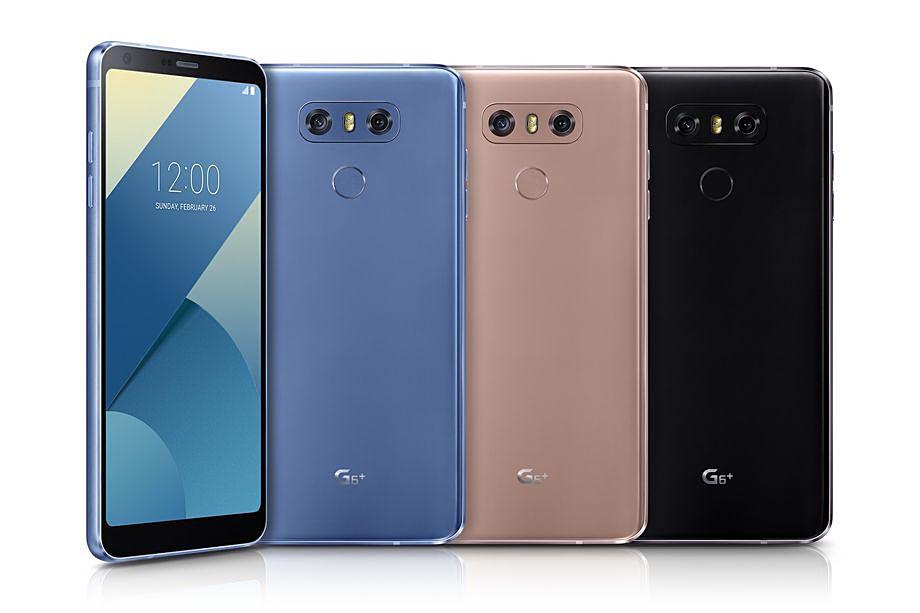 Los nuevos LG G6+ tendrán mejor sonido, carga inalámbrica y 128 GB de almacenamiento