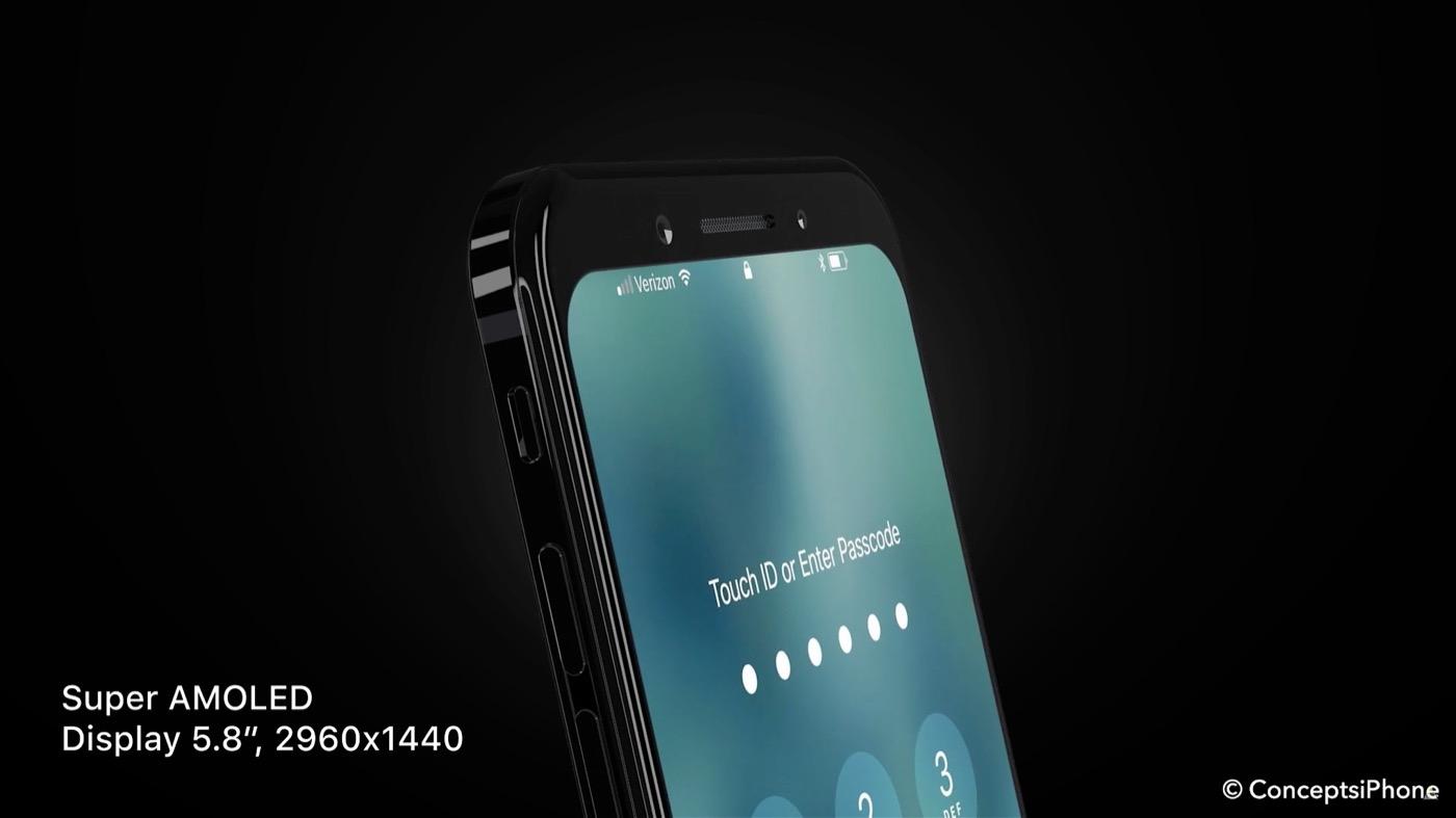 Así podría ser el nuevo iPhone 8 de Apple