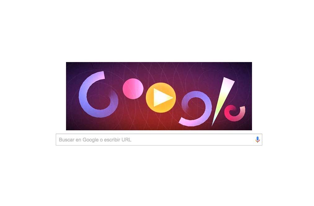 El nuevo doodle de Google en honor a Oskar Fischinger