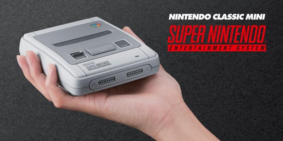 La nueva Super Nintendo Classic Edition llegará el 29 de septiembre