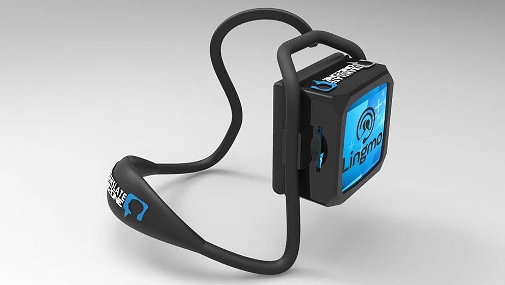 El auricular Translate One2One de Lingmo
