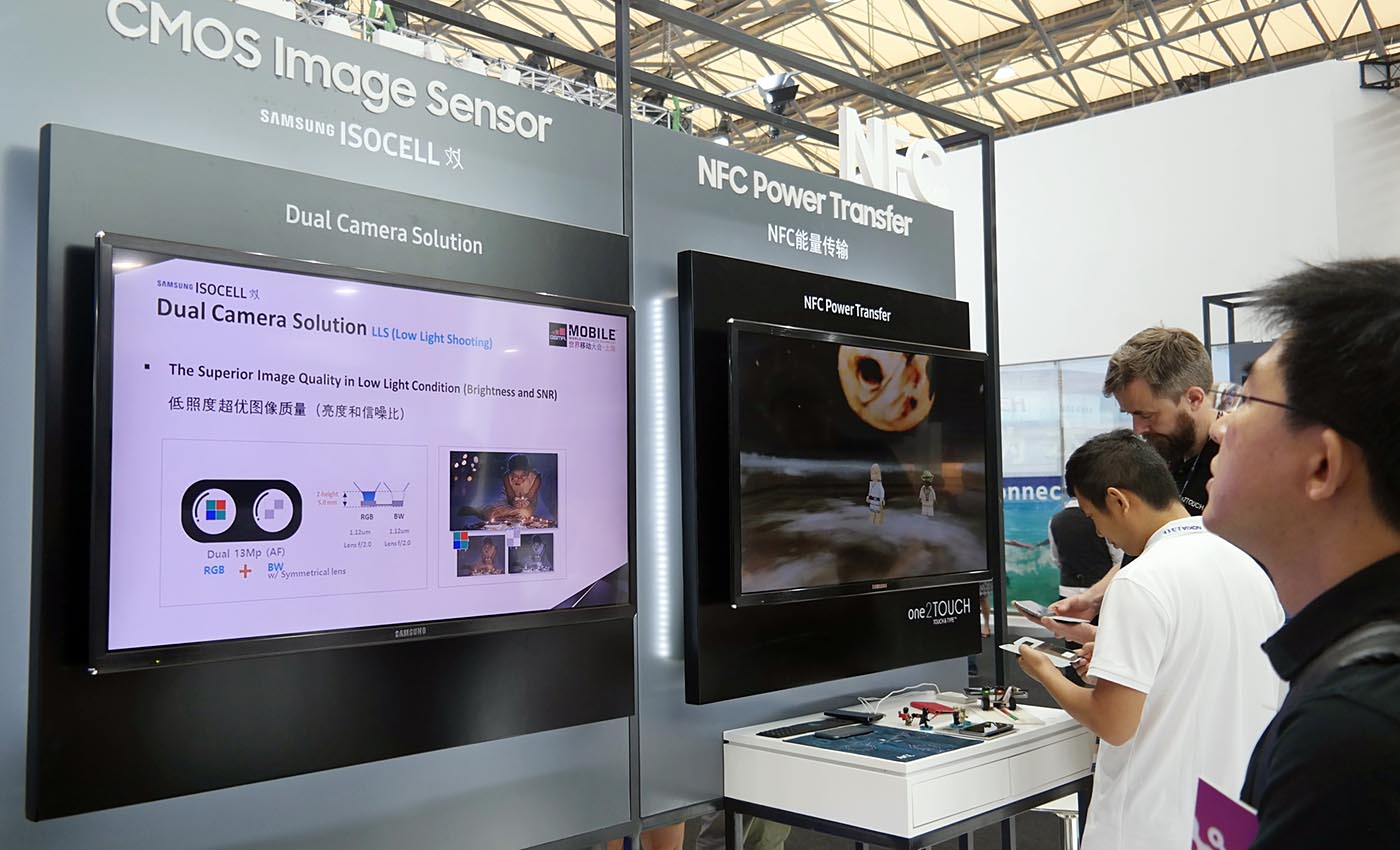 Lanzamiento Isocell MWC Shangai