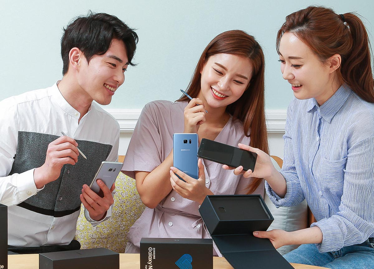 Samsung pone a la venta este viernes el Galaxy Note 7 Fan Edition