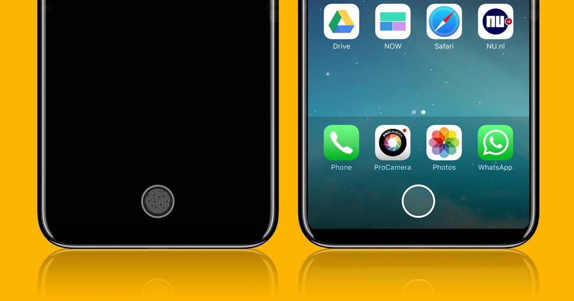 ¿Podría venir el iPhone 8 sin lector de huella? Es lo que creen algunos analistas