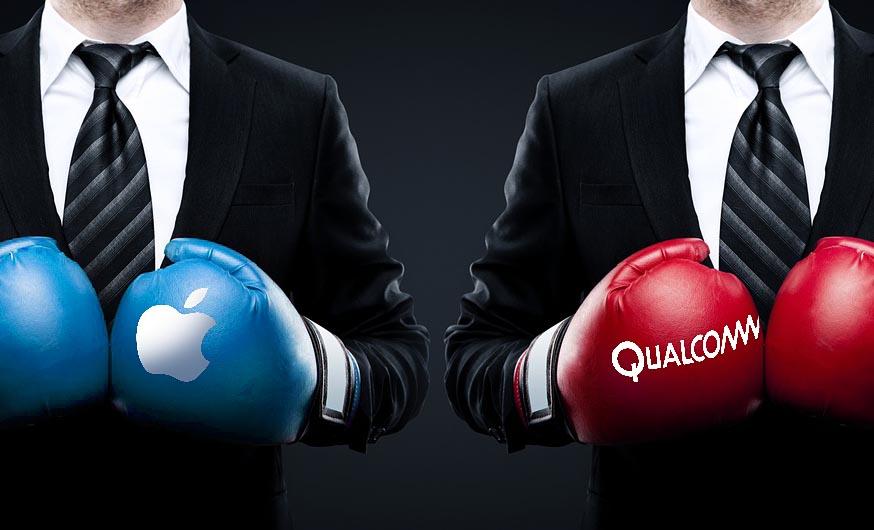 Qualcomm quiere parar la venta de los iPhone hasta que Apple acceda a pagar los royalties por sus patentes