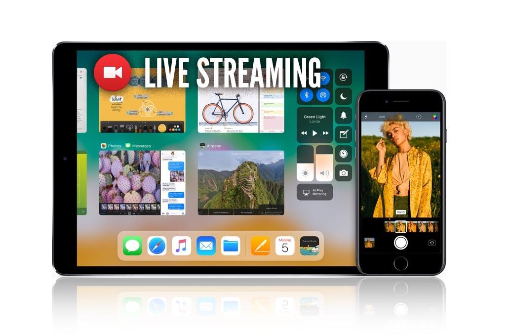 iOS 11 integrará un sistema que no solo te permitirá grabar lo que sucede en pantalla sino emitirlo en vivo