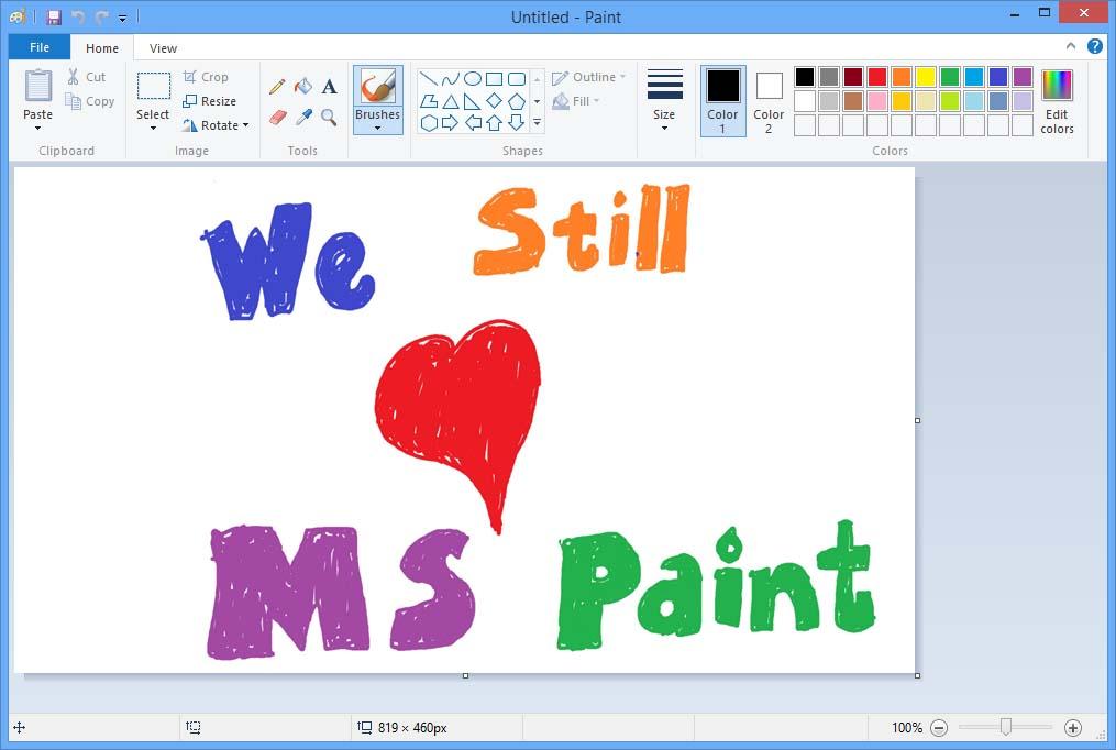 Microsoft ha aclarado que Paint seguirá disponible en la tienda Windows Store