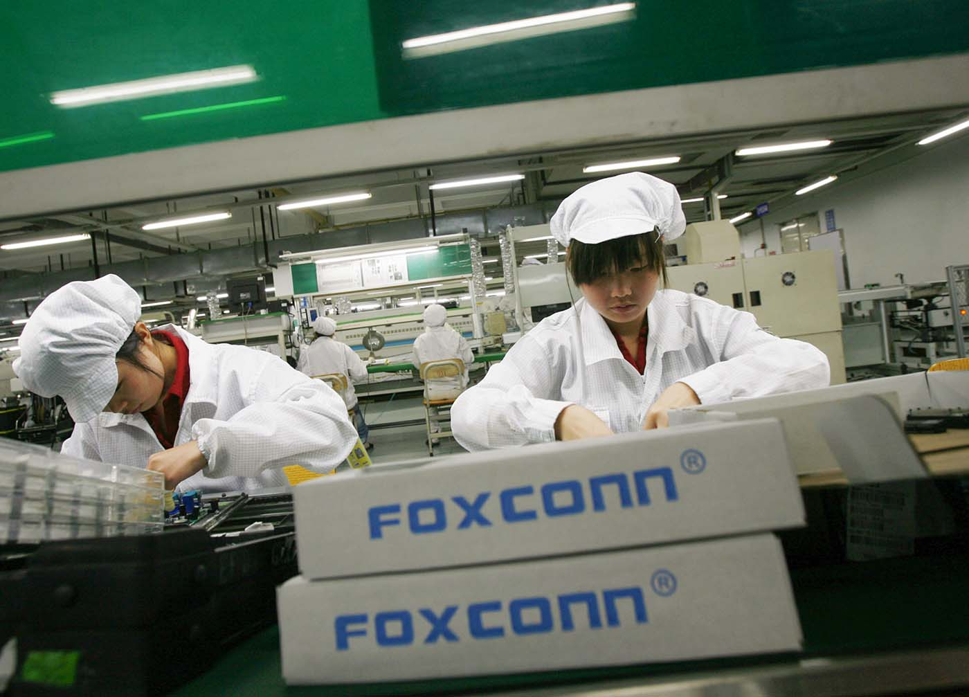 La próxima factoría de Foxconn no estará en China sino en el estado de Wisconsin en EEUU