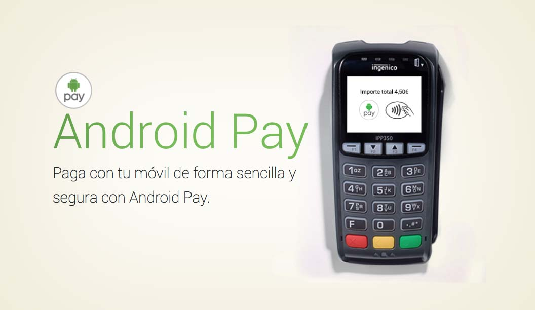 Android Pay llega a España con las tarjetas Visa y MasterCard del banco BBVA