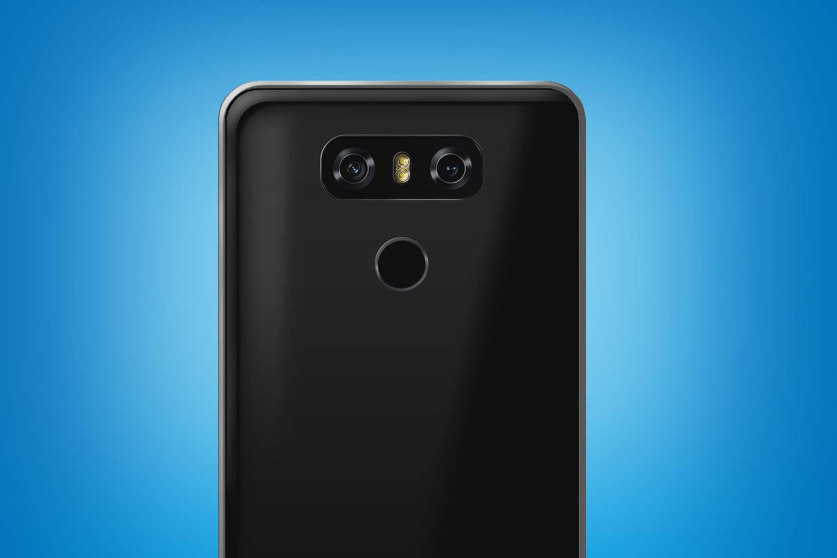 Posible aspecto del LG V30