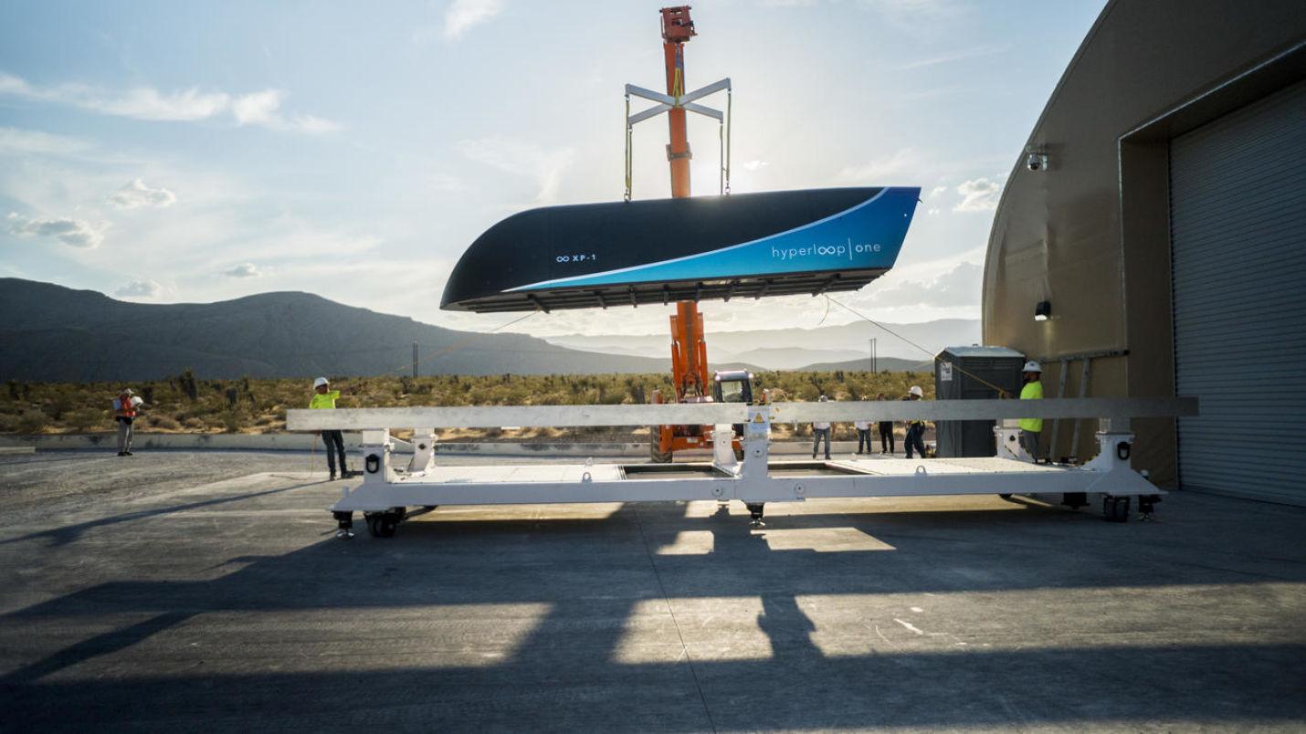 El Hyperloop ha alcanzado ya velocidades de más de 300 Km/h