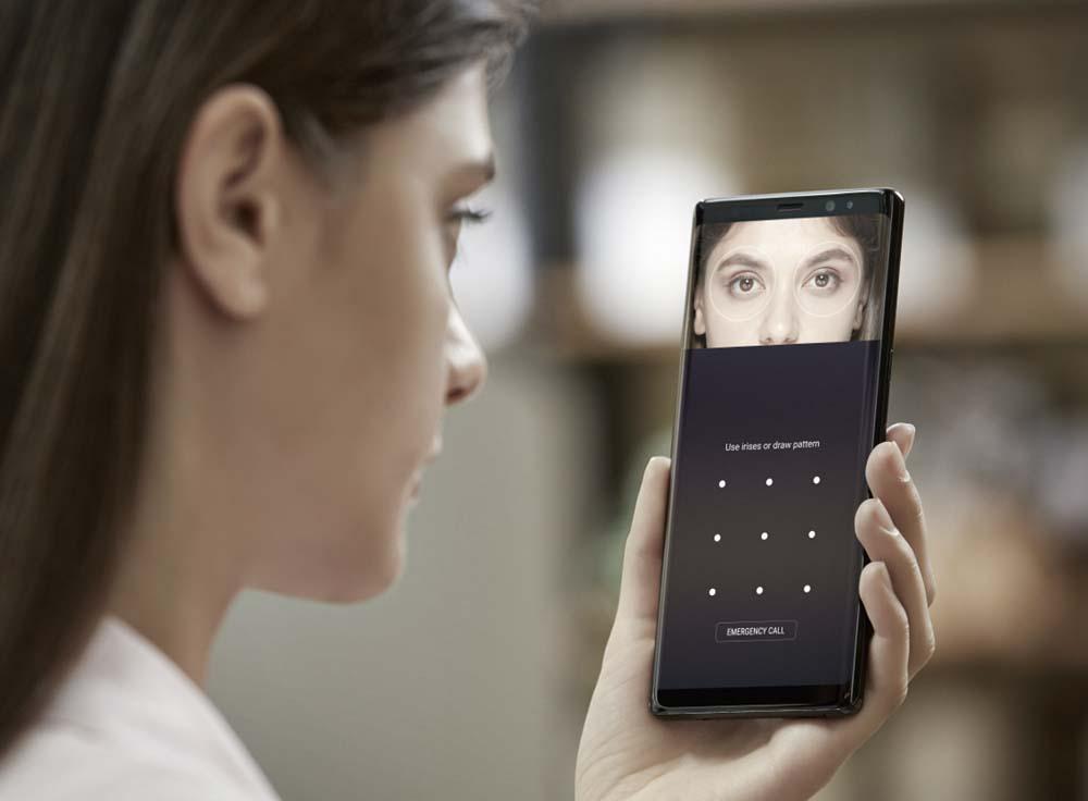 El Galaxy S9 incluirá un reconocimiento de Iris muy mejorado con respecto al actual