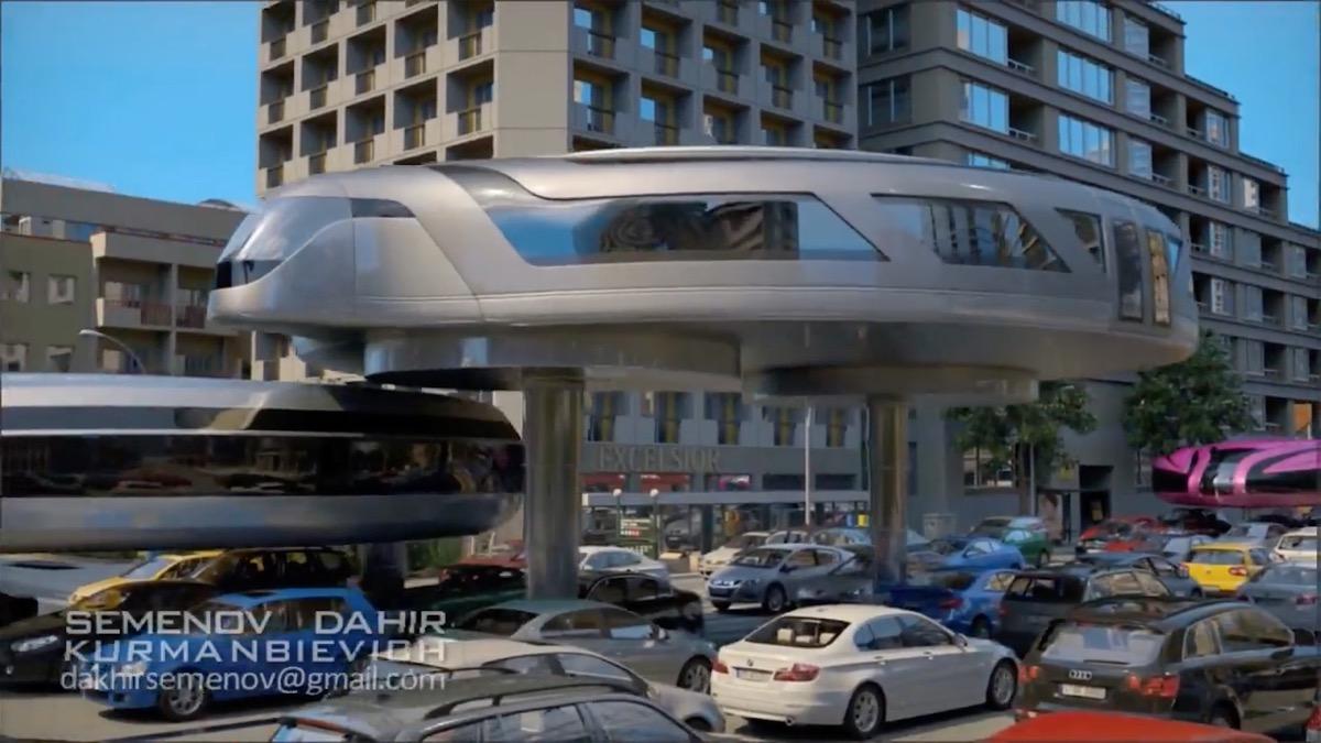 Así son los futuristas vehículos giroscópicos que imagina el inventor Dahir Insaat