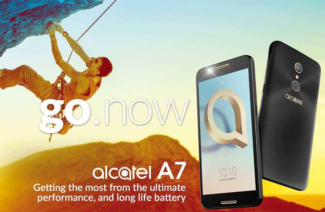 Los nuevos Alcatel A7 y A7 XL ofrecen una gran pantalla y batería de 4.000 mAh