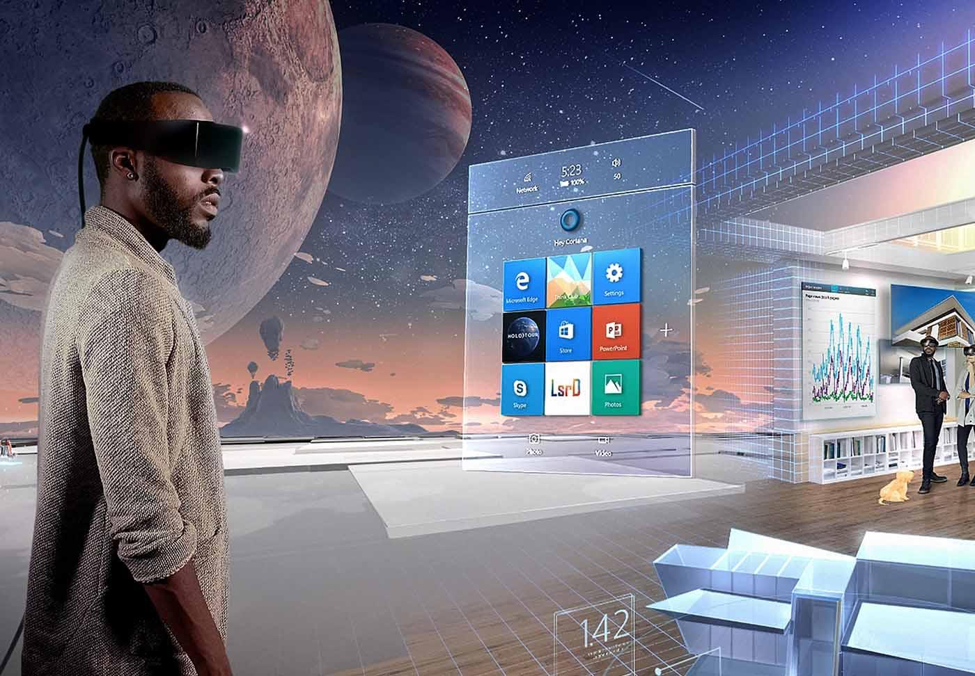 La realidad mixta Microsoft llegará el 17 de octubre con la  actualización Windows 10 Fall Creators Update