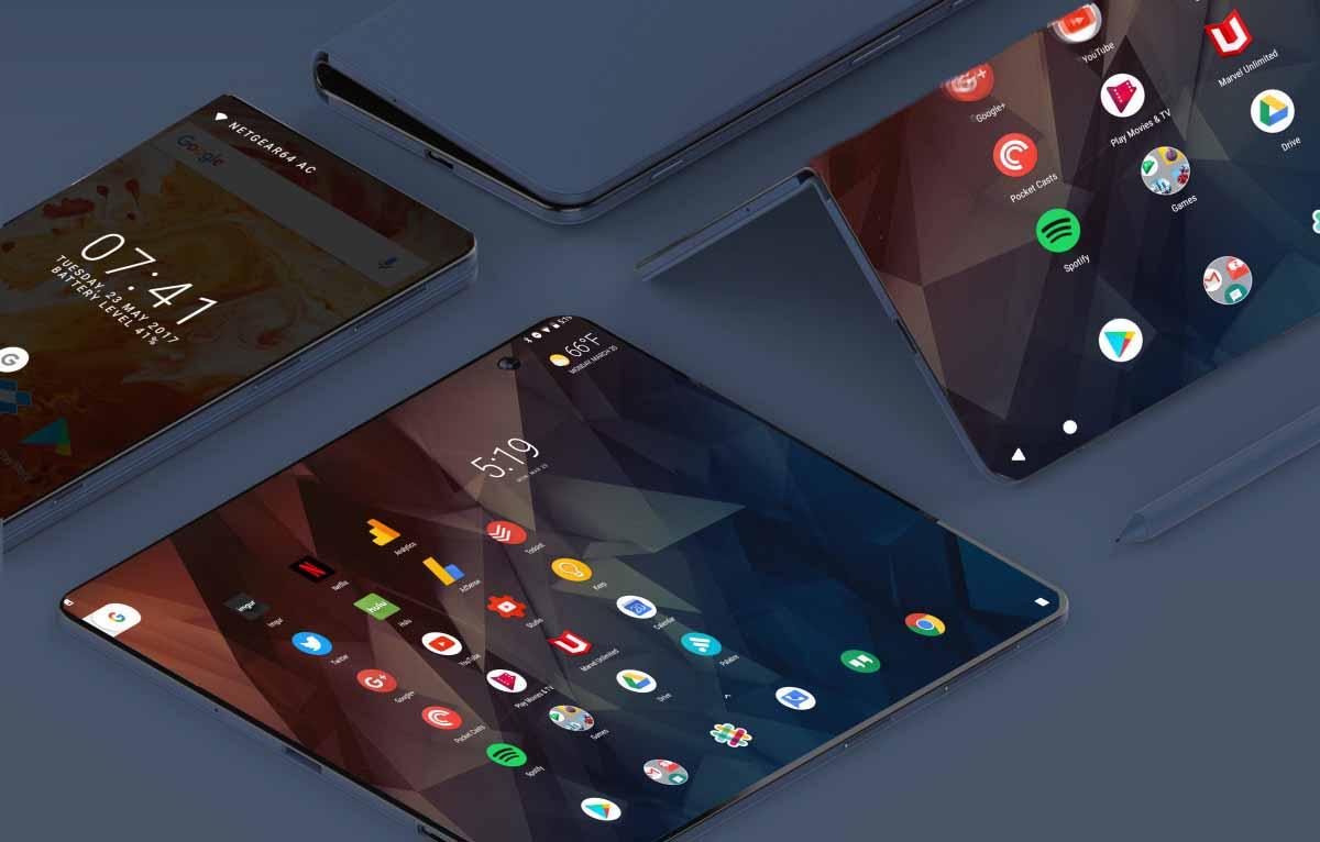 ZTE presentará en octubre el Axon Multy, su primer móvil que se despliega a modo de tableta