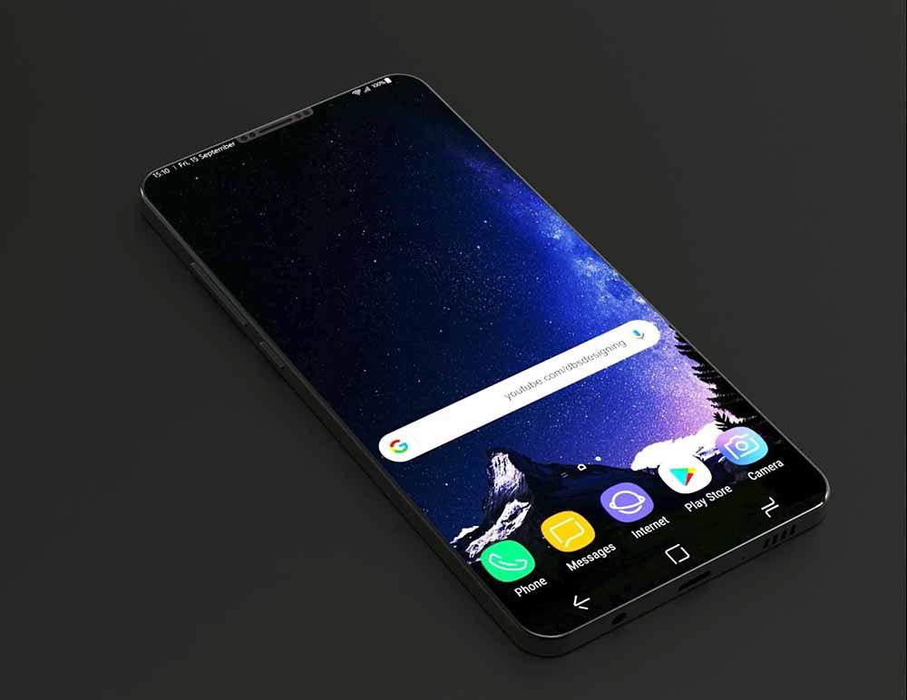 Posible aspecto del Samsung Galaxy S9