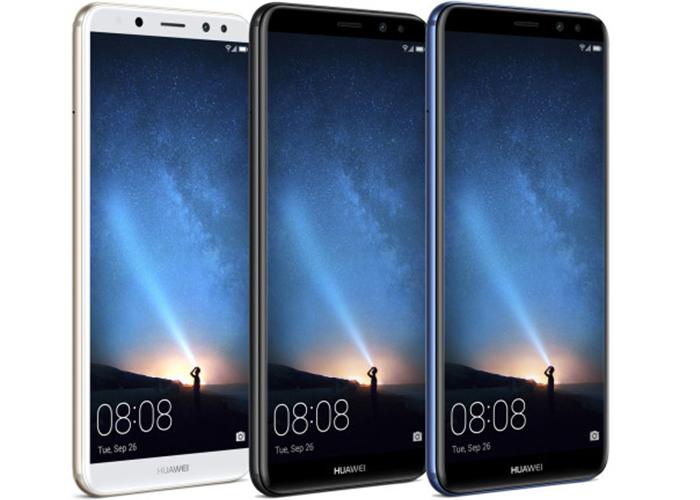 Huawei Mate 10 Lite viene con 4 cámaras y una pantalla de 6 pulgadas alargada y sin apenas marcos