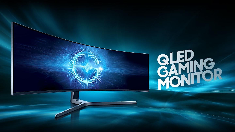 Los nuevos monitores Samsung ultra panorámicos alcanzan casi 50 pulgadas de diagonal para una experiencia más inmersiva