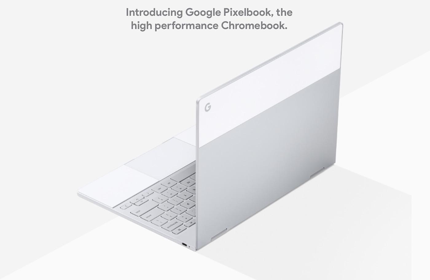 El nuevo portátil Google Pixelbook
