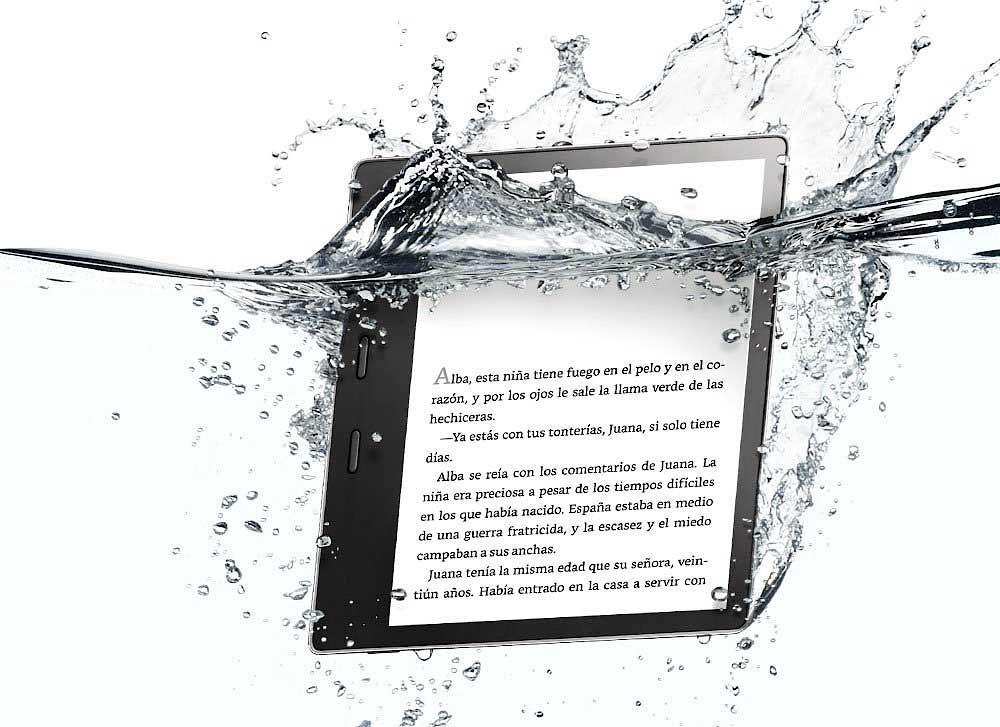 El nuevo Kindle Oasis de Amazon es el primer lector resistente al agua del gigante de las compras en Internet