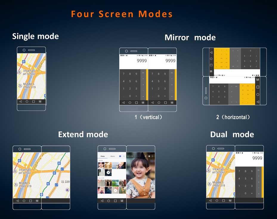 ZTE Axon M, el smartphone plegable ya es realidad