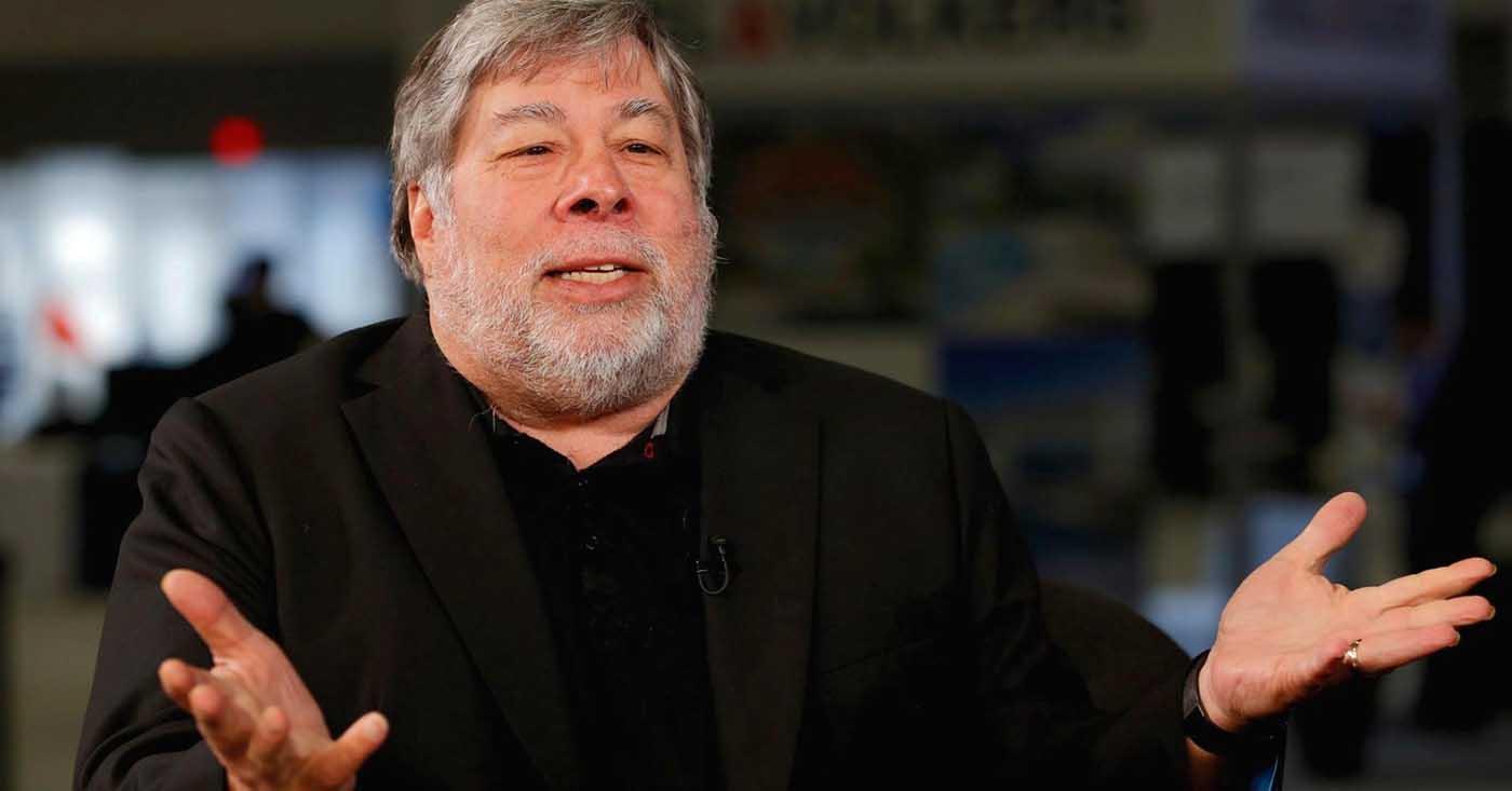 Steve Wozniak fue cofundador de Apple junto a Steve Jobs pero no tiene relación con la compañía desde hace décadas