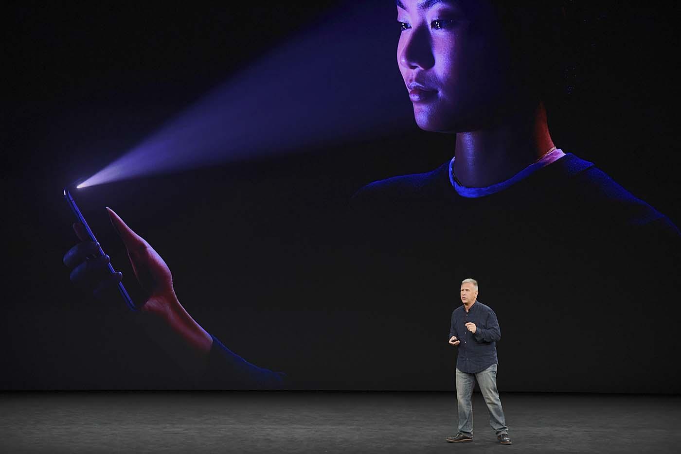 Phill Schiller fue el encargado de presentar el nuevo sistema Face ID del iPhone X el pasado mes de septiembre