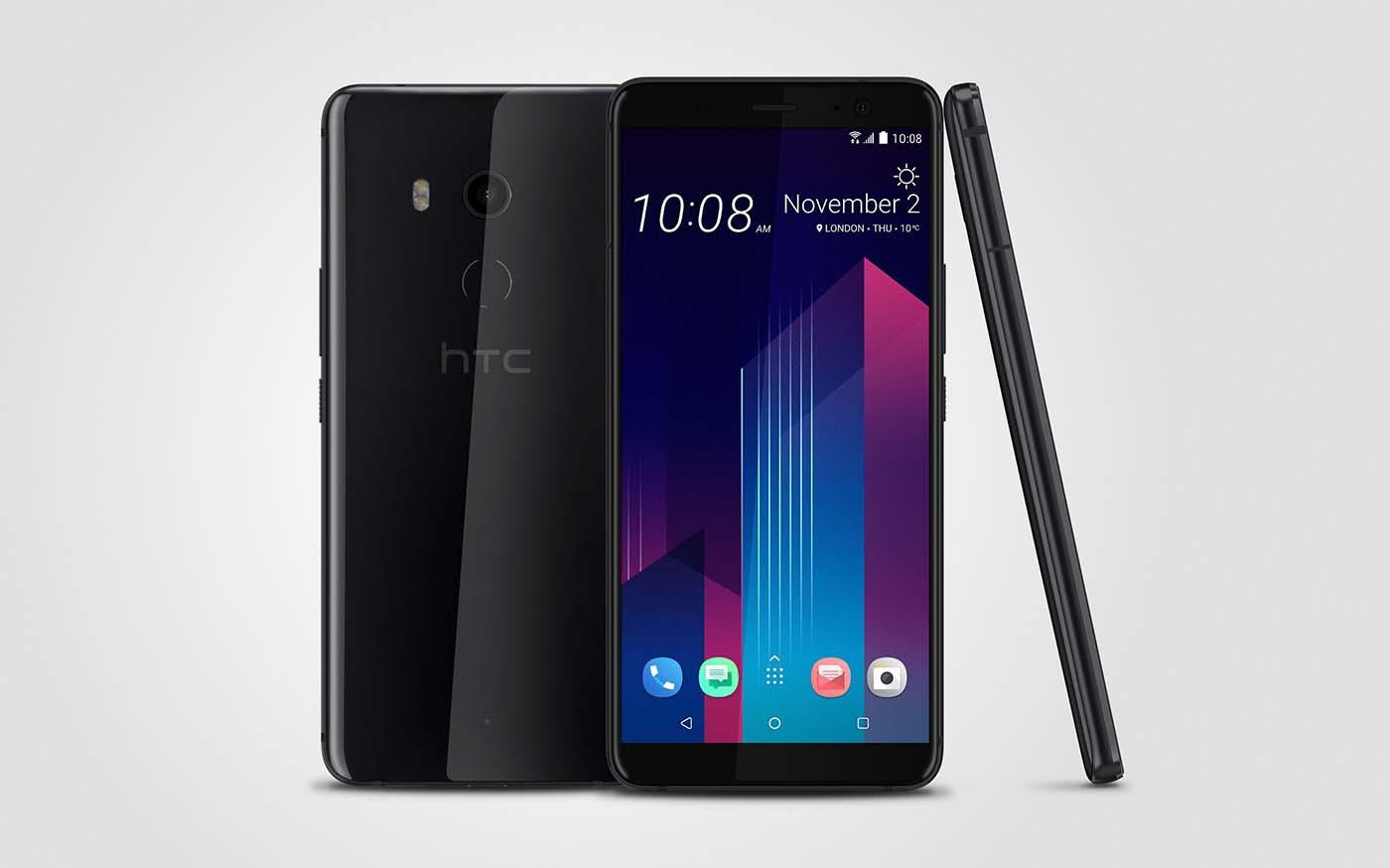 El nuevo HTC U11+ trae un diseño todo pantalla y mejoras en la cámara y el sonido