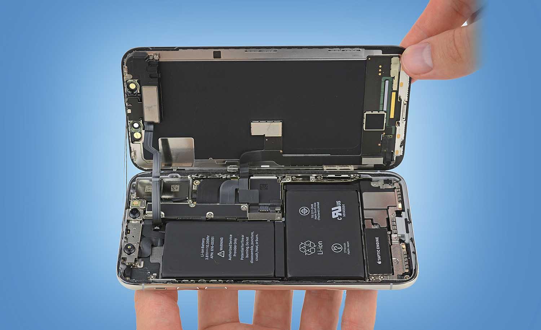 Un nuevo despeine de iFixit nos muestra los secretos del interior del iPhone X
