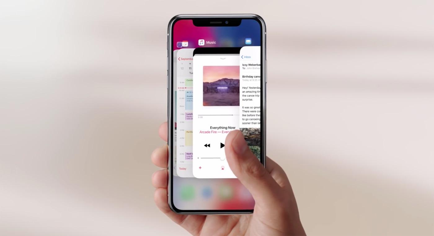 cómo usar el iphone x