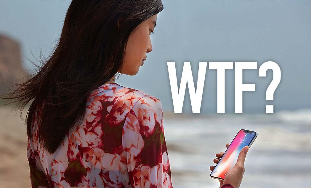 Un par de ciudadanos estadounidenses han devuelto su iPhone X porque no consiguen adaptarse a su manejo
