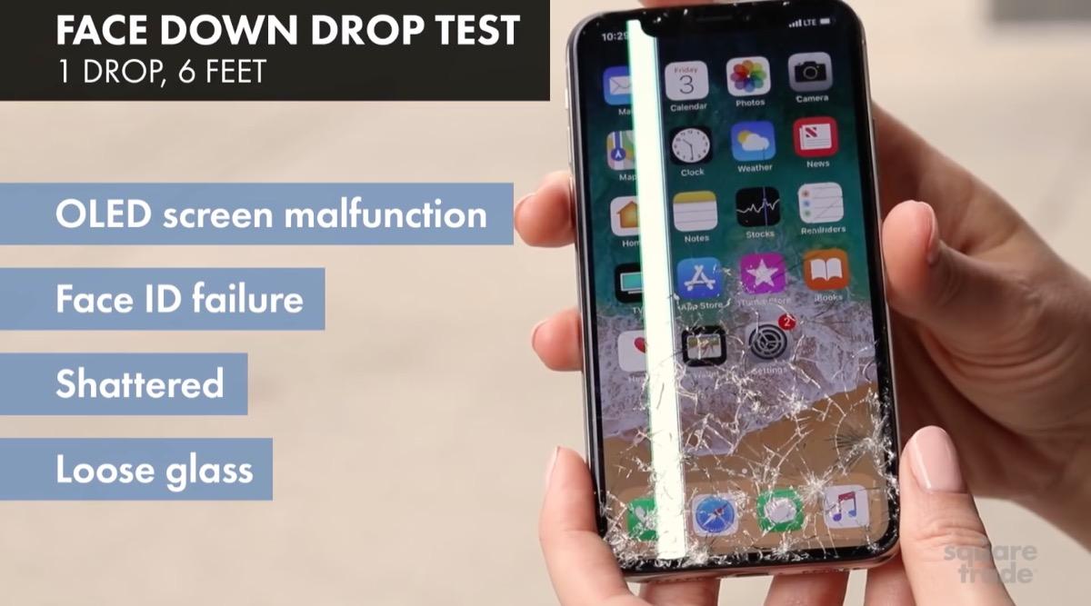 El iPhone X es el móvil más frágil y caro de reparar según la aseguradora SquareTrade
