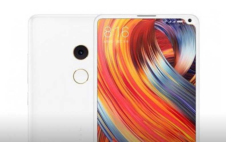 Xiaomi podría estar preparando un nuevo Mi MIX 2s con la cámara alojada en la esquina superior derecha de la pantalla